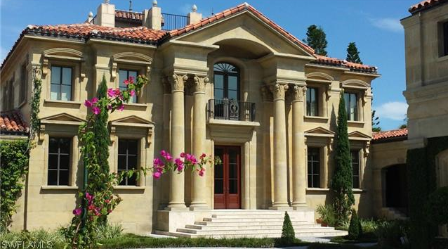 $20 Million Neoclassical Waterfront Home In Naples, FL