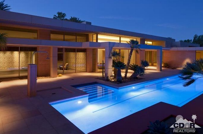 $15 Million 19,000 Square Foot Contemporary Mansion In Indian Wells, CA