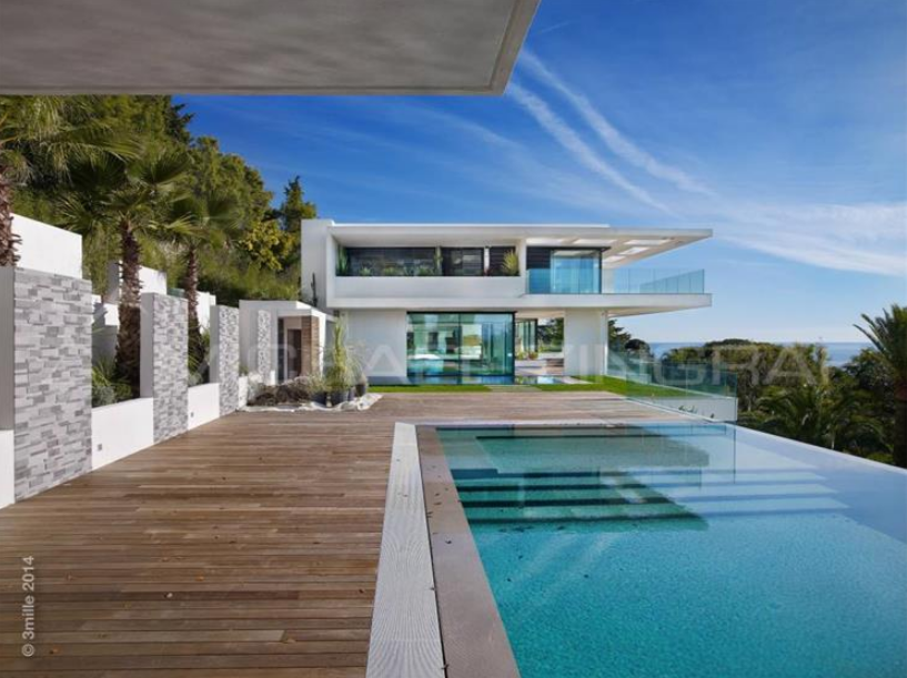 11,000 Square Foot Newly Built Modern Mansion In Cannes, France