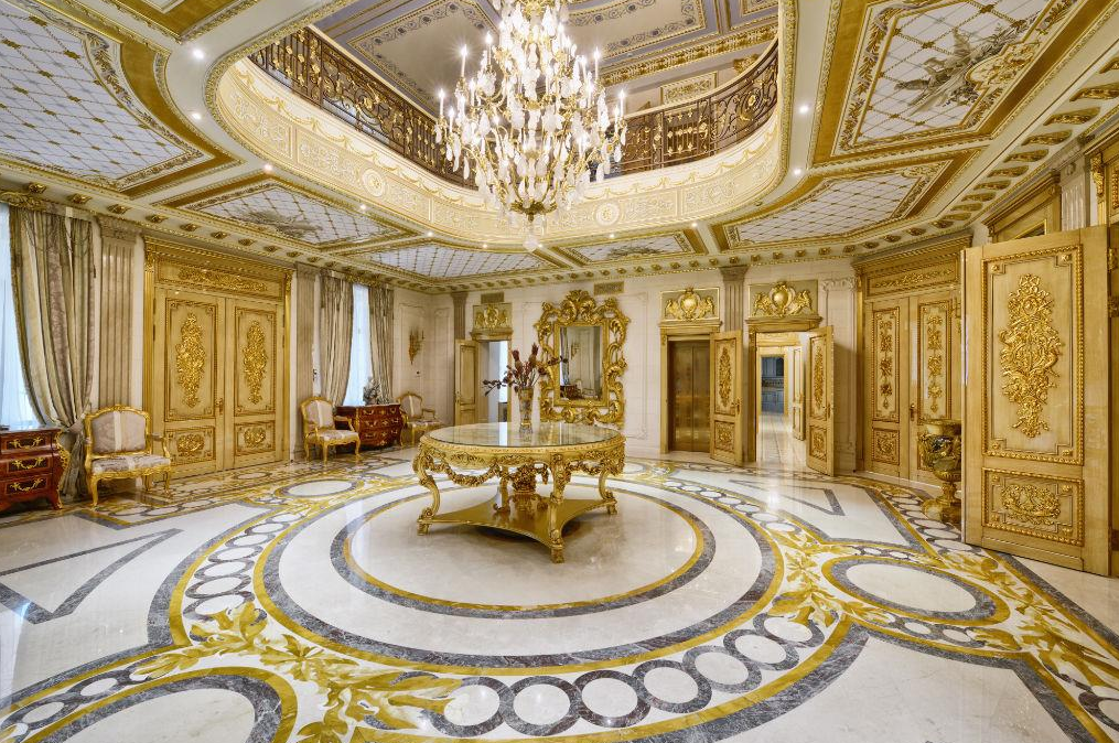 100 Million 25 000 Square Foot Mega Mansion In Moscow