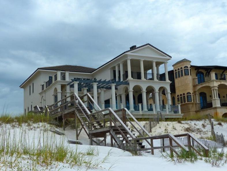 $6.495 Million French Provincial Beachfront Home In Santa Rosa Beach, FL