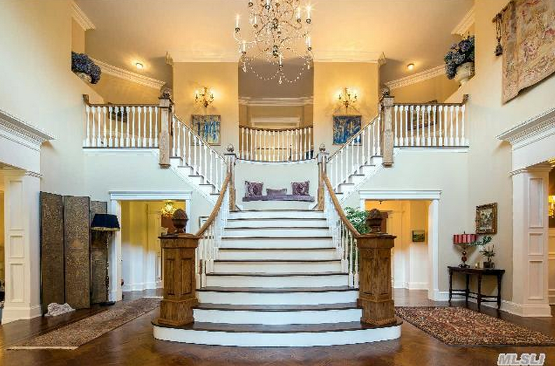 6 5 Million Colonial Mansion In Sands Point Ny Homes