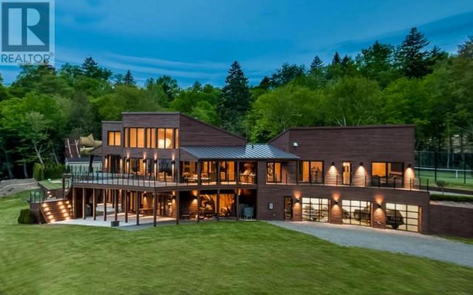 Million 100 Acre Lakefront Estate In New Brunswick