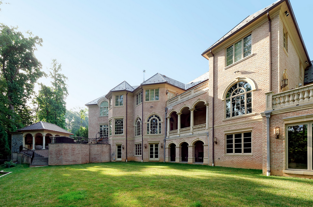 20,000 Square Foot Mega Mansion In McLean, VA Re-Listed