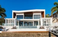 $7.95 Million Newly Built Contemporary Style Waterfront Home In Queensland, AU