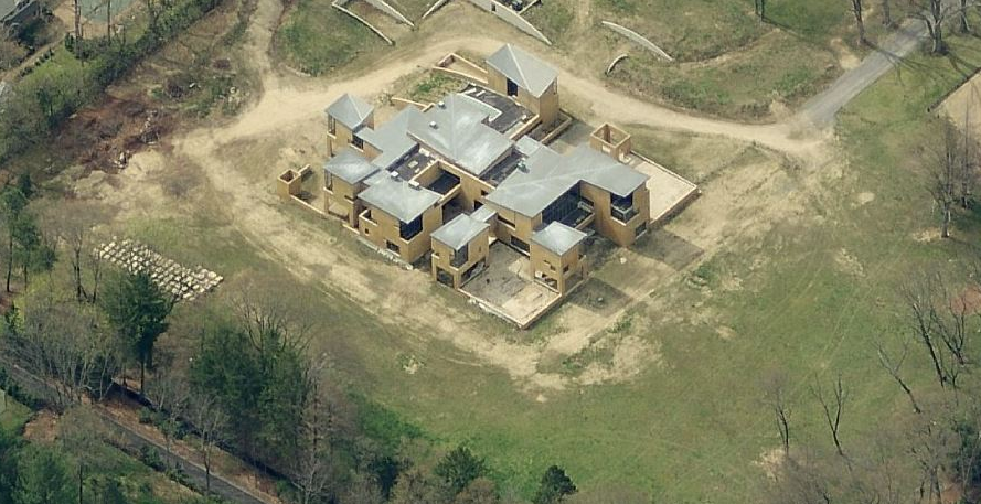17,000 Square Foot Unfinished Contemporary Mansion In Old Westbury, NY