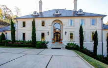 $2.5 Million Lakefront Mansion In North Little Rock, AR