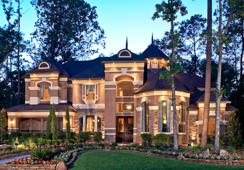 Exterior Mansion: #1 Custom Home Builder In Texas