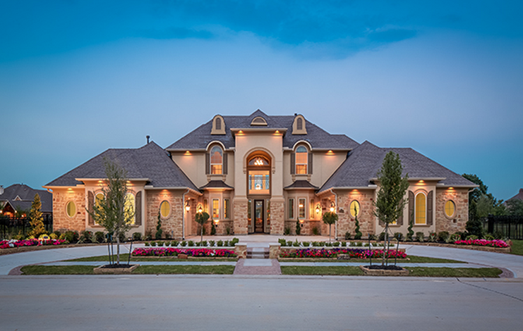 Partners in building 1 custom home builder in texas for Custom built house