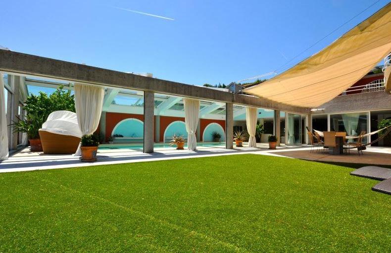 10,000 Square Foot Mediterranean Villa In Ticino, Switzerland