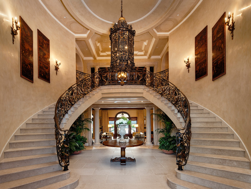 Foyers Staircases Homes Of The Rich