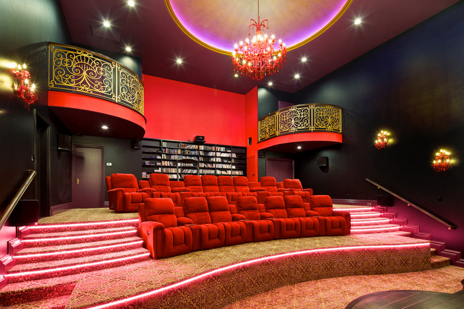 Home Theaters Homes Of The Rich