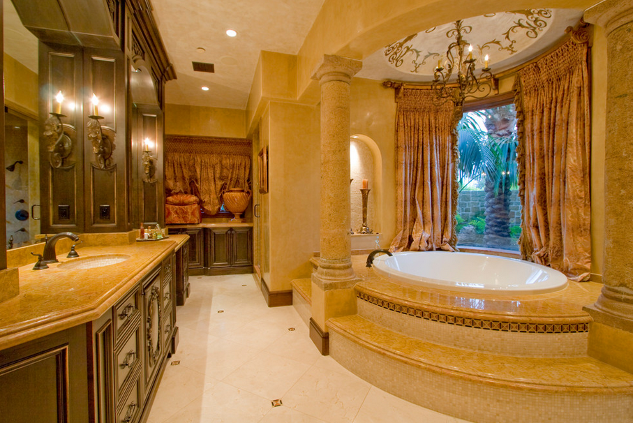 Bathrooms Homes The Rich