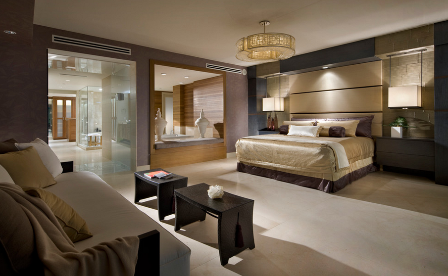 bedrooms homes of the rich