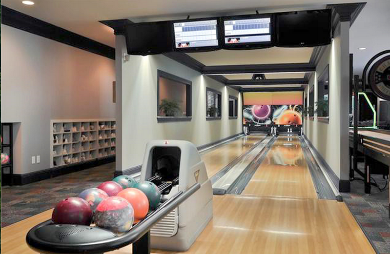 Bowling Alleys | Homes of the Rich