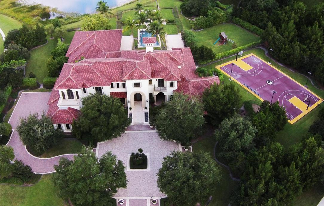 $6.25 Million Lakefront Mansion In Delray Beach, FL
