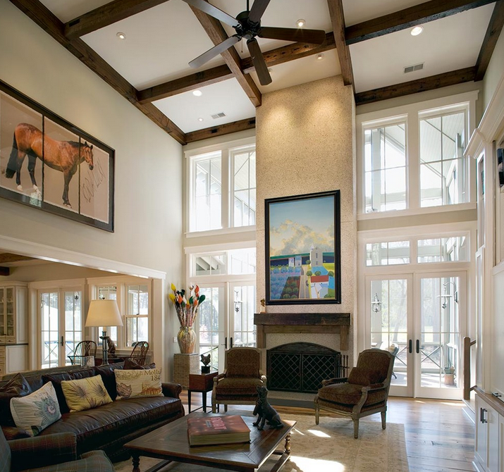 Best Ceiling Fan For Large Great Room: 2-Story Great Rooms