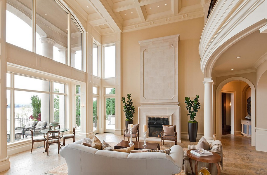 2 Story Great Room Decorating Ideas Part - 39: 2-Story Great Rooms