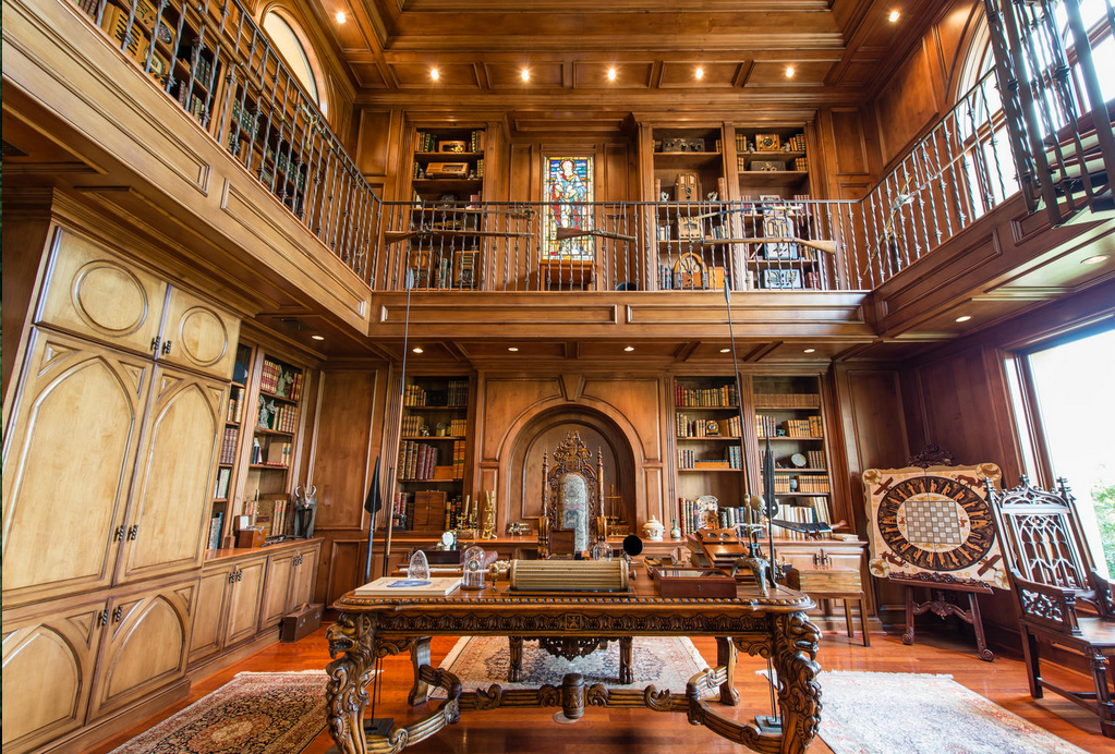 2 Story Libraries Homes Of The Rich The 1 Real Estate