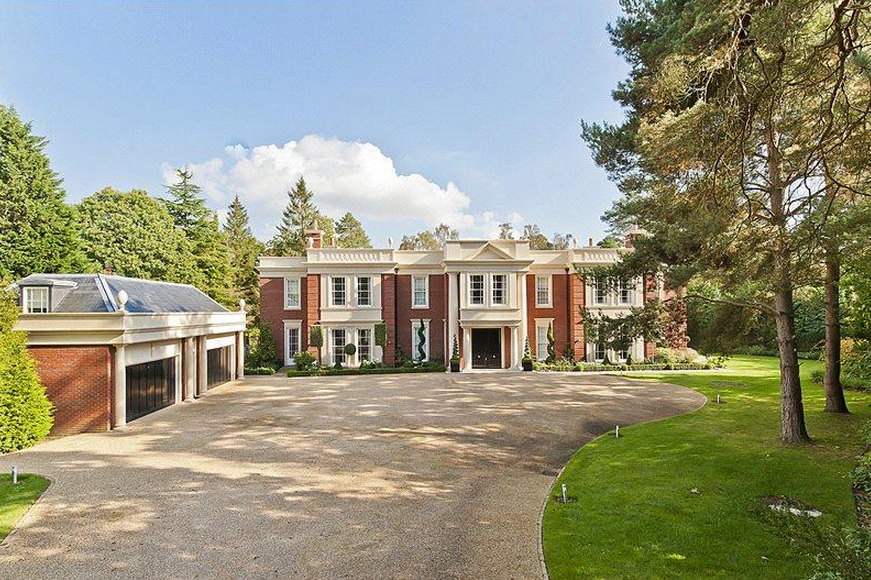 highland house a 16 million mansion in surrey england homes of the rich
