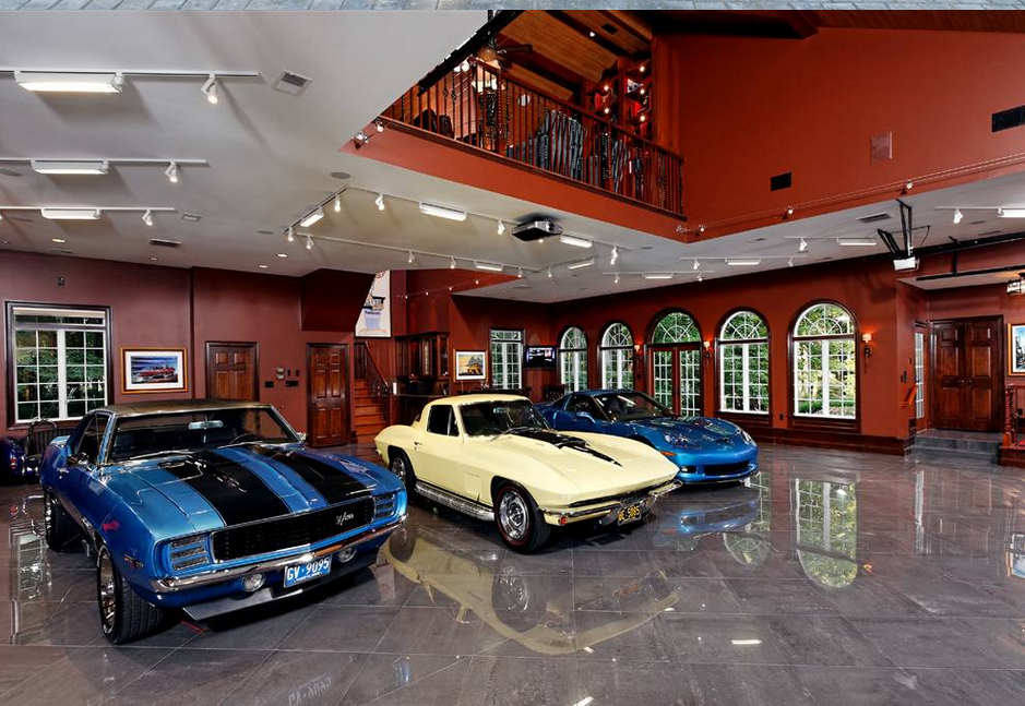 Garages Homes Of The Rich