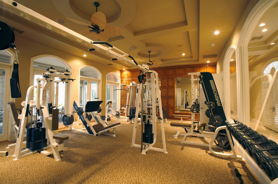 Gyms Homes Of The Rich The 1 Real Estate Blog