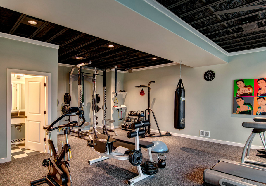Gyms homes of the rich