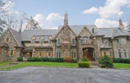 $4.9 Million Newly Listed Stone Mansion In Gladwyne, PA