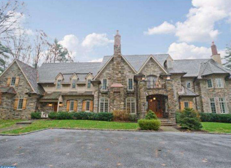 4 9 Million Newly Listed Stone Mansion In Gladwyne Pa on Mega Mansion Floor Plans