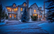 Ghost Lake Manor – A 13,000 Square Foot Mansion In Alberta, Canada