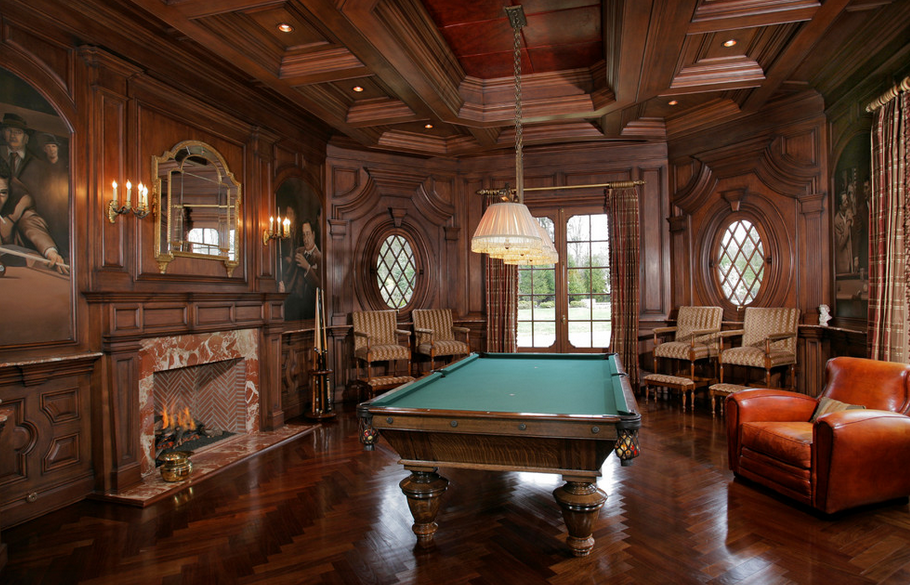 Billiards Rooms Homes Of The Rich The 1 Real Estate Blog