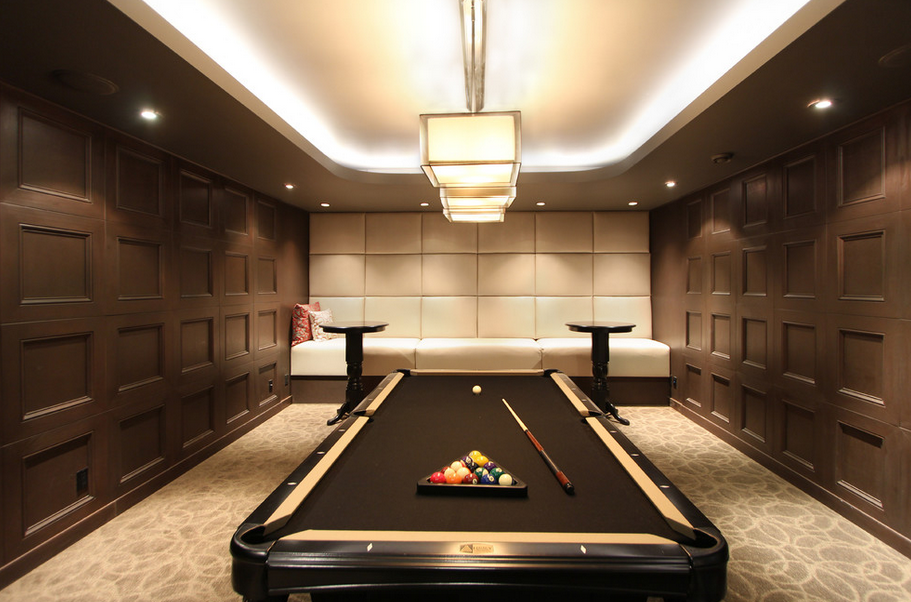 billiards rooms homes of the rich. Black Bedroom Furniture Sets. Home Design Ideas