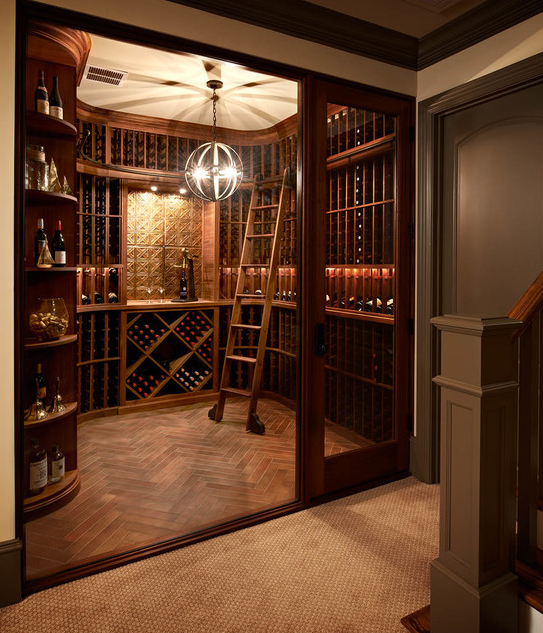 Wine Cellars  Homes of the Rich u2013 The 1 Real Estate Blog