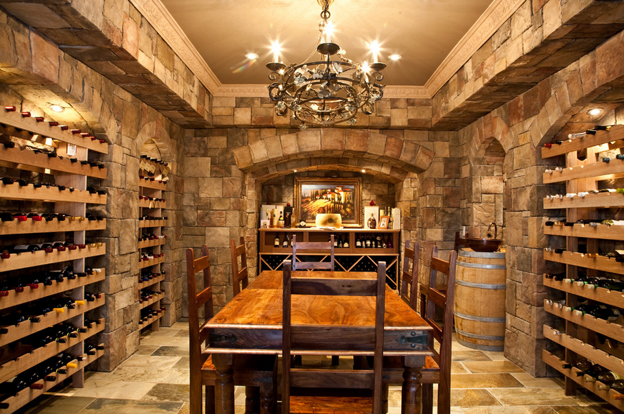 Wine Cellars Homes Of The Rich The 1 Real Estate Blog