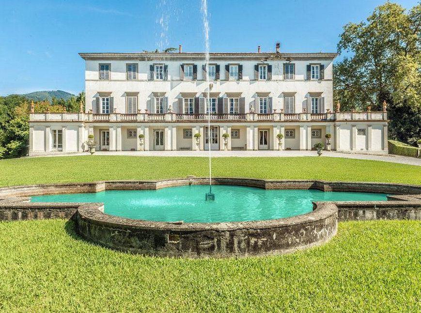 €25 Million 32,000 Square Foot Historic Estate In Lucca, Italy