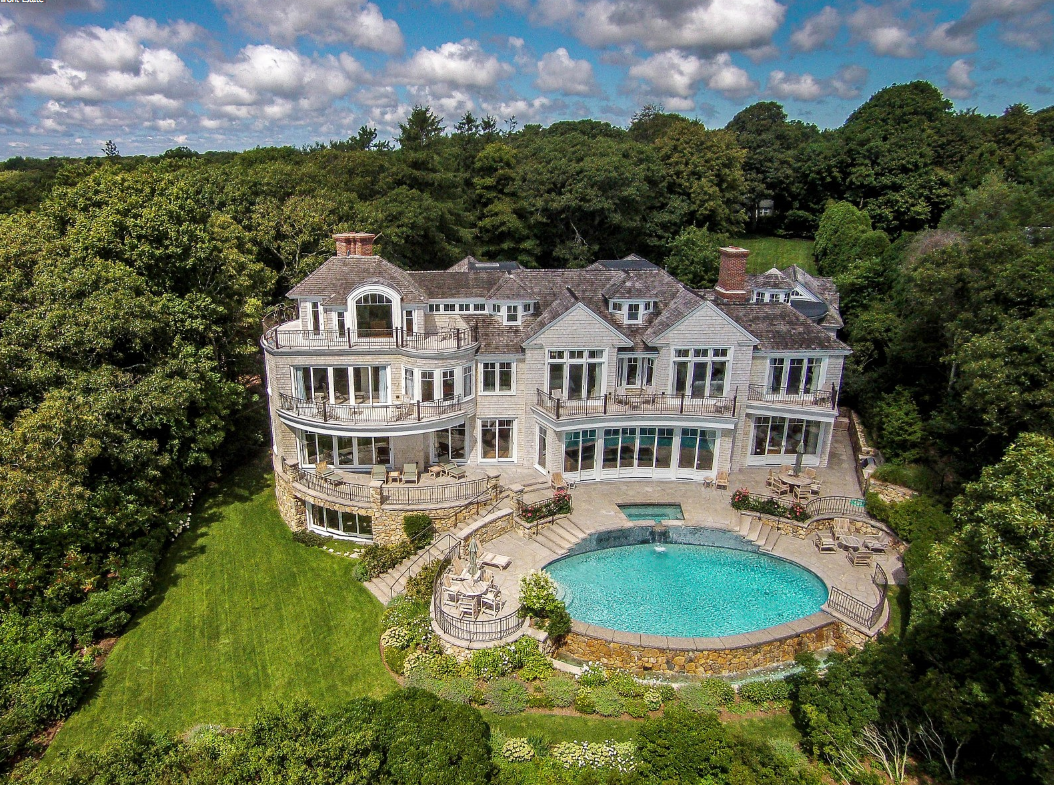 13 9 Million Waterfront Shingle Mansion In Osterville Ma
