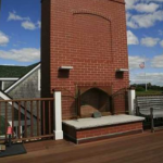 Rooftop patio w/ Fireplace