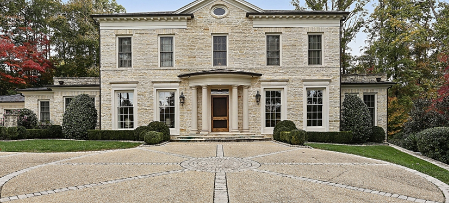 $4.1 Million English Cotswold Manor Home In Atlanta, GA