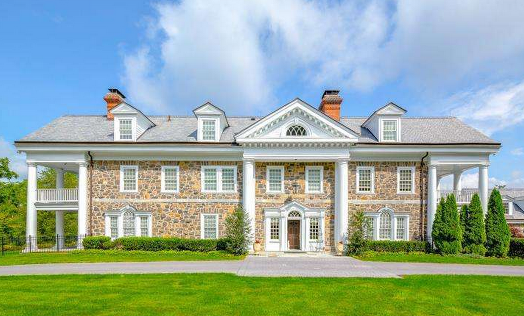 $3.4 Million 13,000 Square Foot Stone Colonial Mansion In Devon, PA