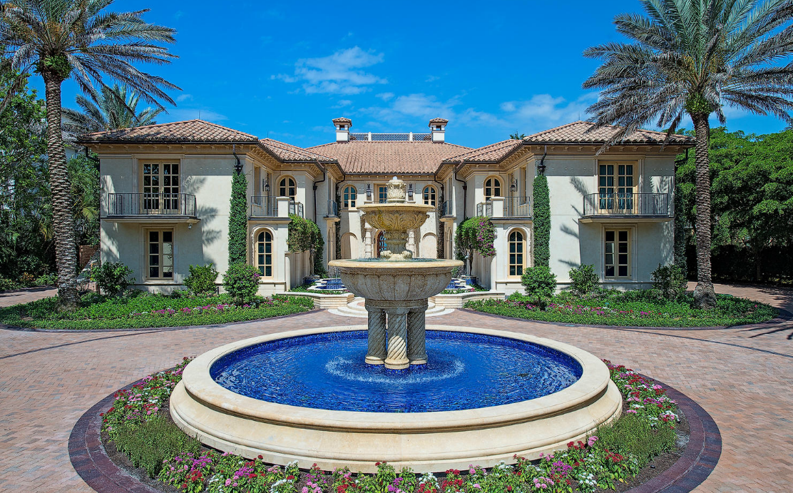 La Capanna – A $58 Million 20,000 Square Foot Beachfront Mega Mansion In Naples, FL
