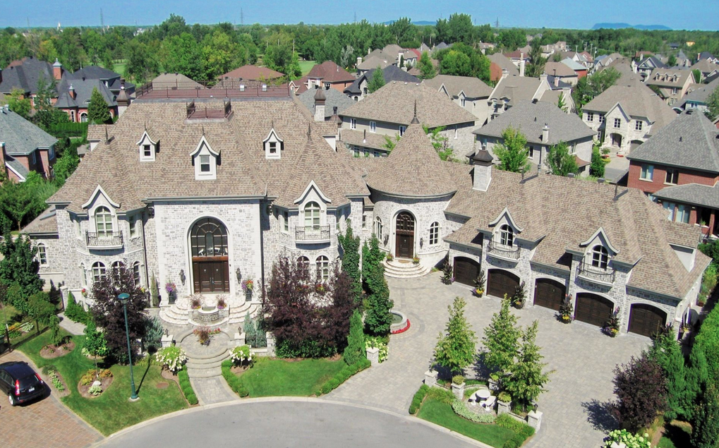 7 million 15 000 square foot mansion in quebec canada