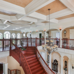 2-story Foyer w/ Y-shaped Staircase