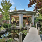 Koi Pond w/ Gazebo