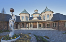 $6.2 Million 10,000 Square Foot European Inspired Mansion In Mebane, NC