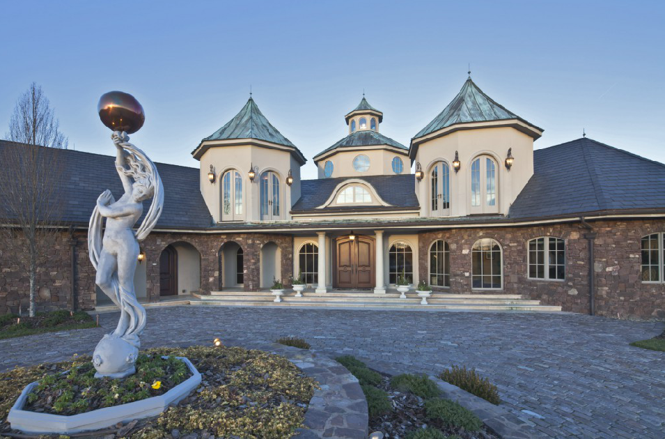 6 2 Million 10 000 Square Foot European Inspired Mansion