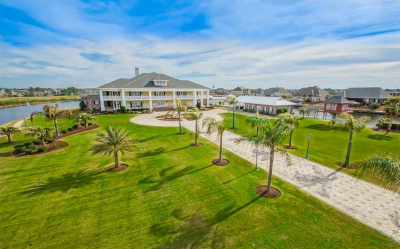 $5.8 Million 20,000 Square Foot Waterfront Estate In Slidell, LA