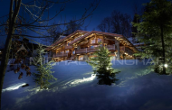 11,000 Square Foot Ski Chalet In Megève, France
