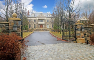 $6.9 Million Stone Colonial Mansion In Greenwich, CT