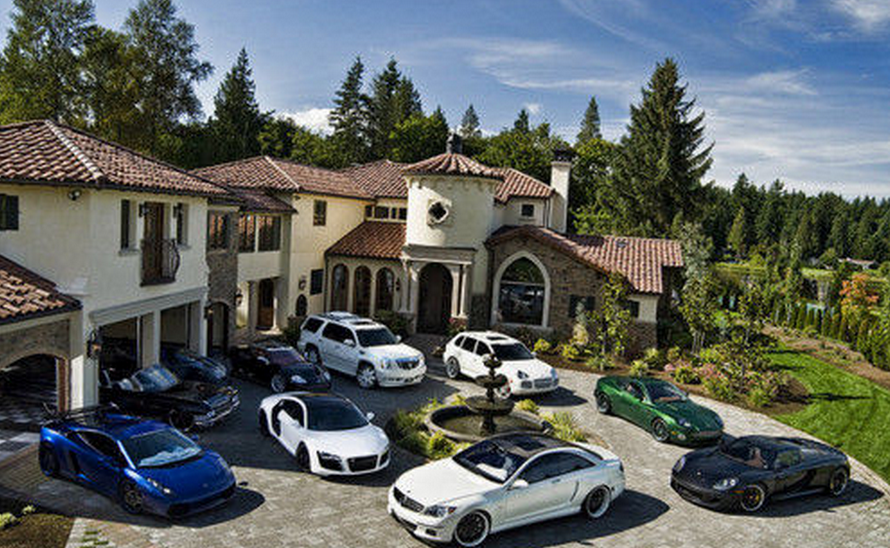 Mansions Amp Cars Homes Of The Rich