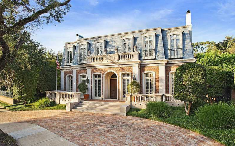 $3.4 Million 10,000 Square Foot French Provincial Brick Mansion In New Orleans, LA